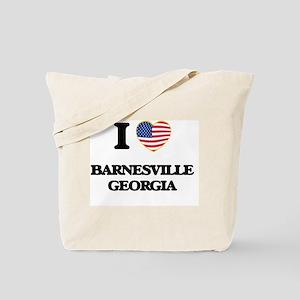 I love Barnesville Georgia Tote Bag