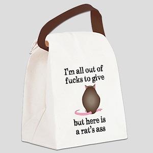 Rat's Ass Canvas Lunch Bag