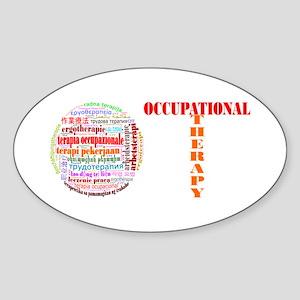 The World of OT Sticker (Oval)