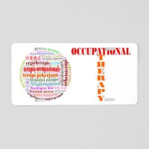 The World of OT Aluminum License Plate