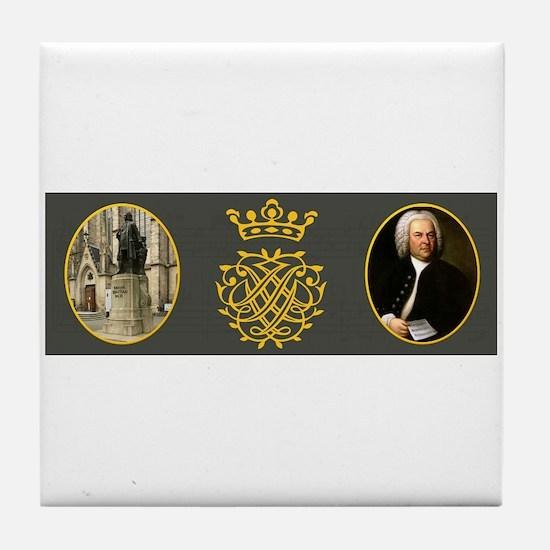 J.S. Bach Tile Coaster