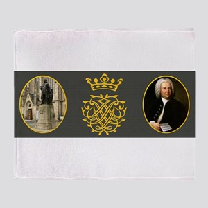 J.S. Bach Throw Blanket