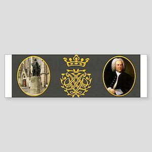 J.S. Bach Bumper Sticker