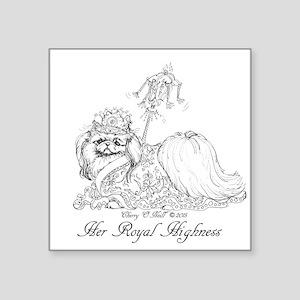Pekingese Royalty Sticker