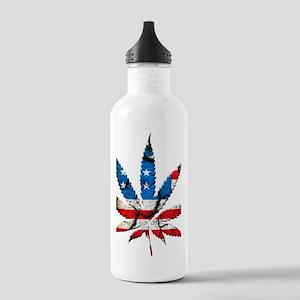marijuana usa Stainless Water Bottle 1.0L