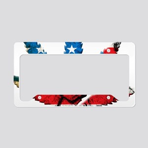 marijuana usa License Plate Holder