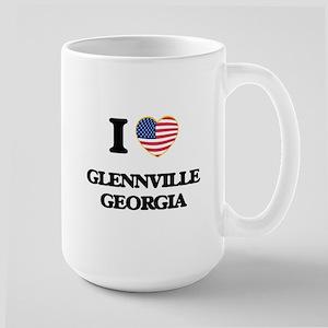I love Glennville Georgia Mugs