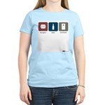 burgers, beer, cornhole Women's Light T-Shirt
