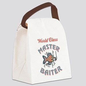 MASTER BAITER Canvas Lunch Bag