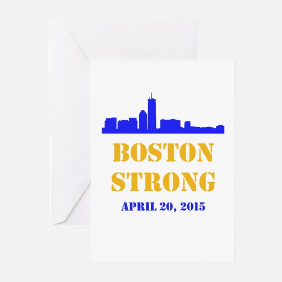 Boston Strong 2015 Greeting Cards