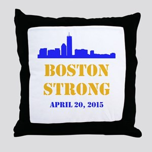 Boston Strong 2015 Throw Pillow