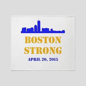 Boston Strong 2015 Throw Blanket