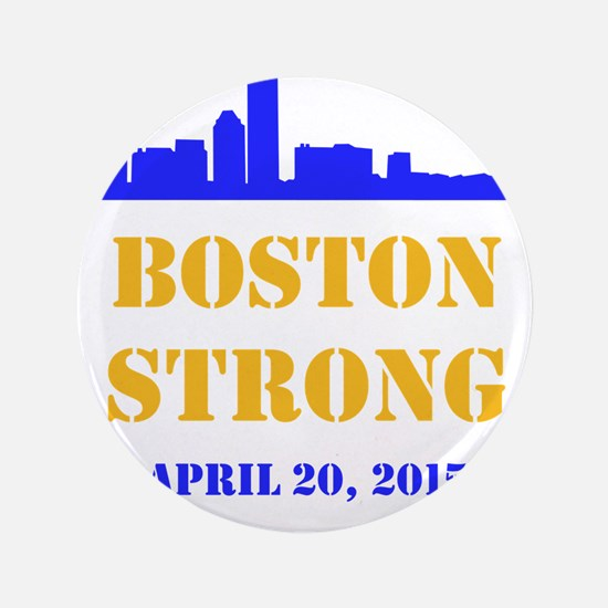 """Boston Strong 2015 3.5"""" Button (100 pack)"""