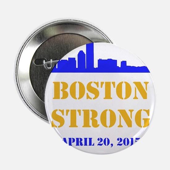 """Boston Strong 2015 2.25"""" Button"""
