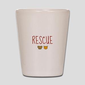 Rescue Shot Glass