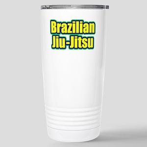 Brazilian Jiu-Jitsu Stainless Steel Travel Mug