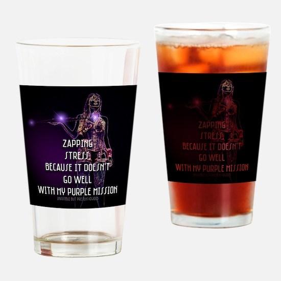 Purple Warrior © Drinking Glass