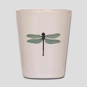 Dragonfly Shot Glass