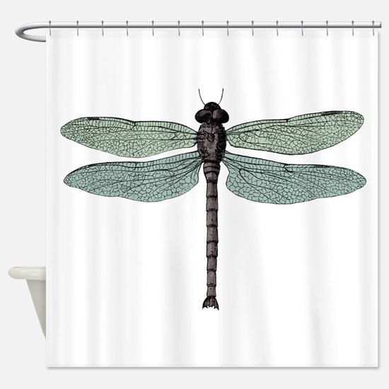 pretty dragonfly shower curtains. Dragonfly Shower Curtain Curtains  CafePress
