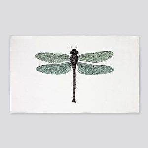 Dragonfly Area Rug