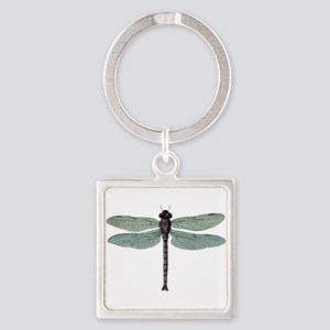 Dragonfly Square Keychain