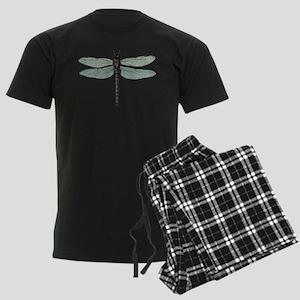 Dragonfly Men's Dark Pajamas