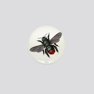 Vintage Bee Mini Button