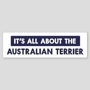 About AUSTRALIAN TERRIER Bumper Sticker