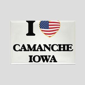 I love Camanche Iowa Magnets