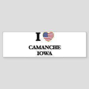 I love Camanche Iowa Bumper Sticker