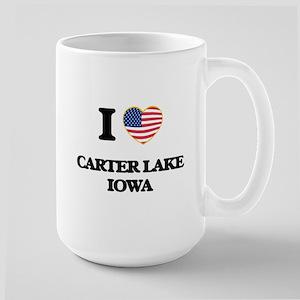 I love Carter Lake Iowa Mugs