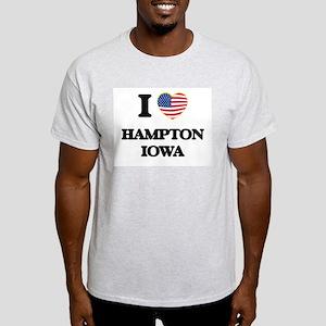 I love Hampton Iowa T-Shirt