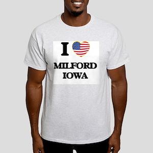 I love Milford Iowa T-Shirt