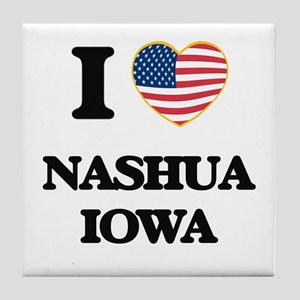 I love Nashua Iowa Tile Coaster