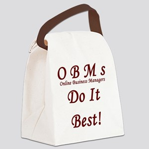 OBMs do it best Canvas Lunch Bag