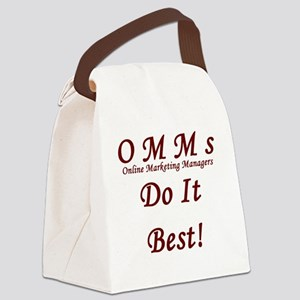 OMM's do it best Canvas Lunch Bag