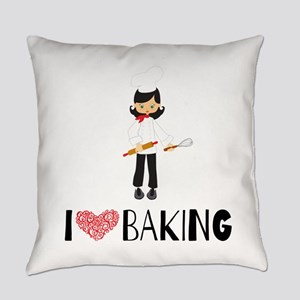 I love Baking Everyday Pillow