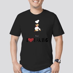 I love Baking Men's Fitted T-Shirt (dark)