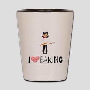 I love Baking Shot Glass