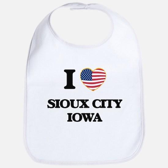 I love Sioux City Iowa Bib