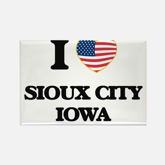 I love Sioux City Iowa Magnets