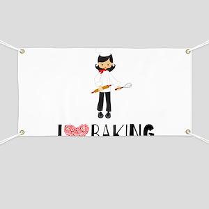 I love Baking Banner