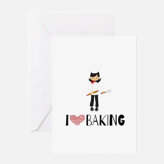 I love Baking Greeting Card