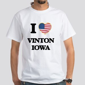 I love Vinton Iowa T-Shirt