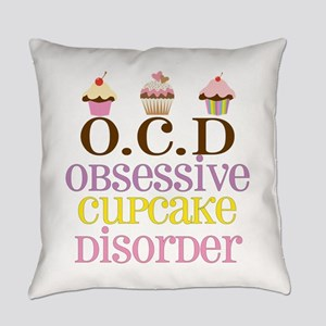 Obsessive Cupcake Disorder Everyday Pillow