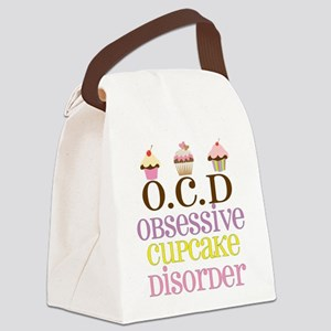 Obsessive Cupcake Disorder Canvas Lunch Bag