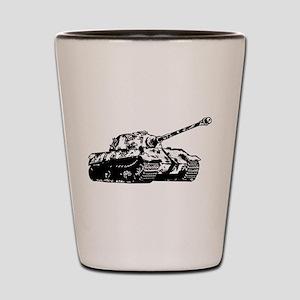 Tiger II Shot Glass
