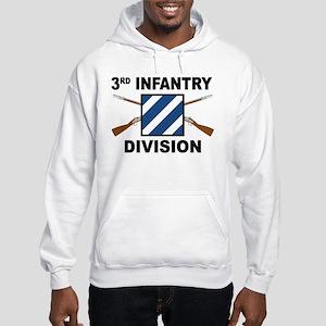 3rd Infantry Division - Crossed Rifles Hoodie