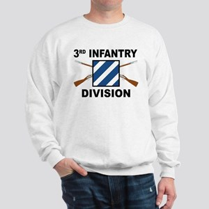 3rd Infantry Division - Crossed Rifles Sweatshirt