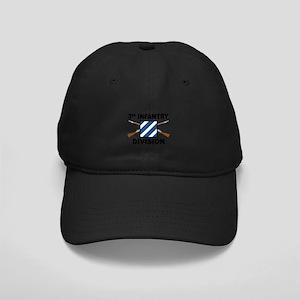 3rd Infantry Division - Crossed Rifles Black Cap